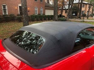 Convertible Top Deep Cleaning Protection