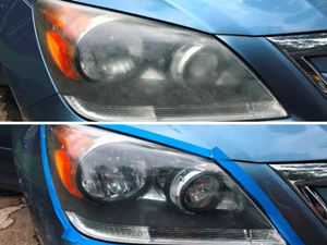 Headlights restoration